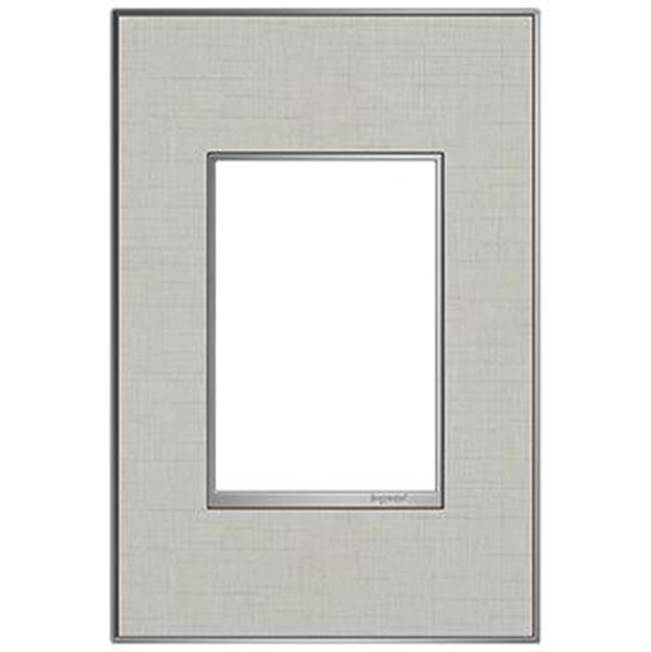 Adorne True Linen, 1-Gang + Wall Plate