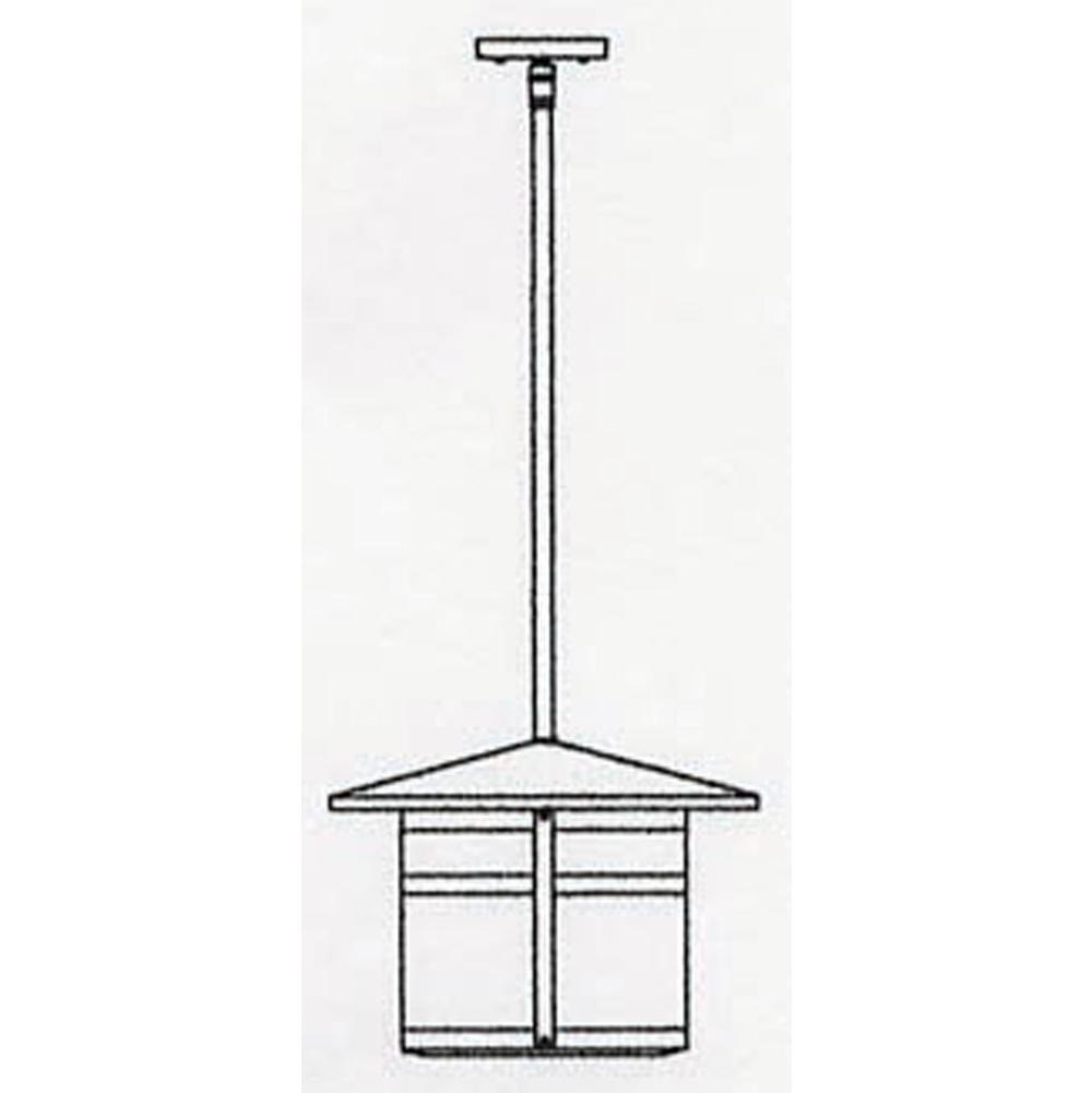 Arroyo Craftsman 14'' Berkeley Stem Hung Pendant