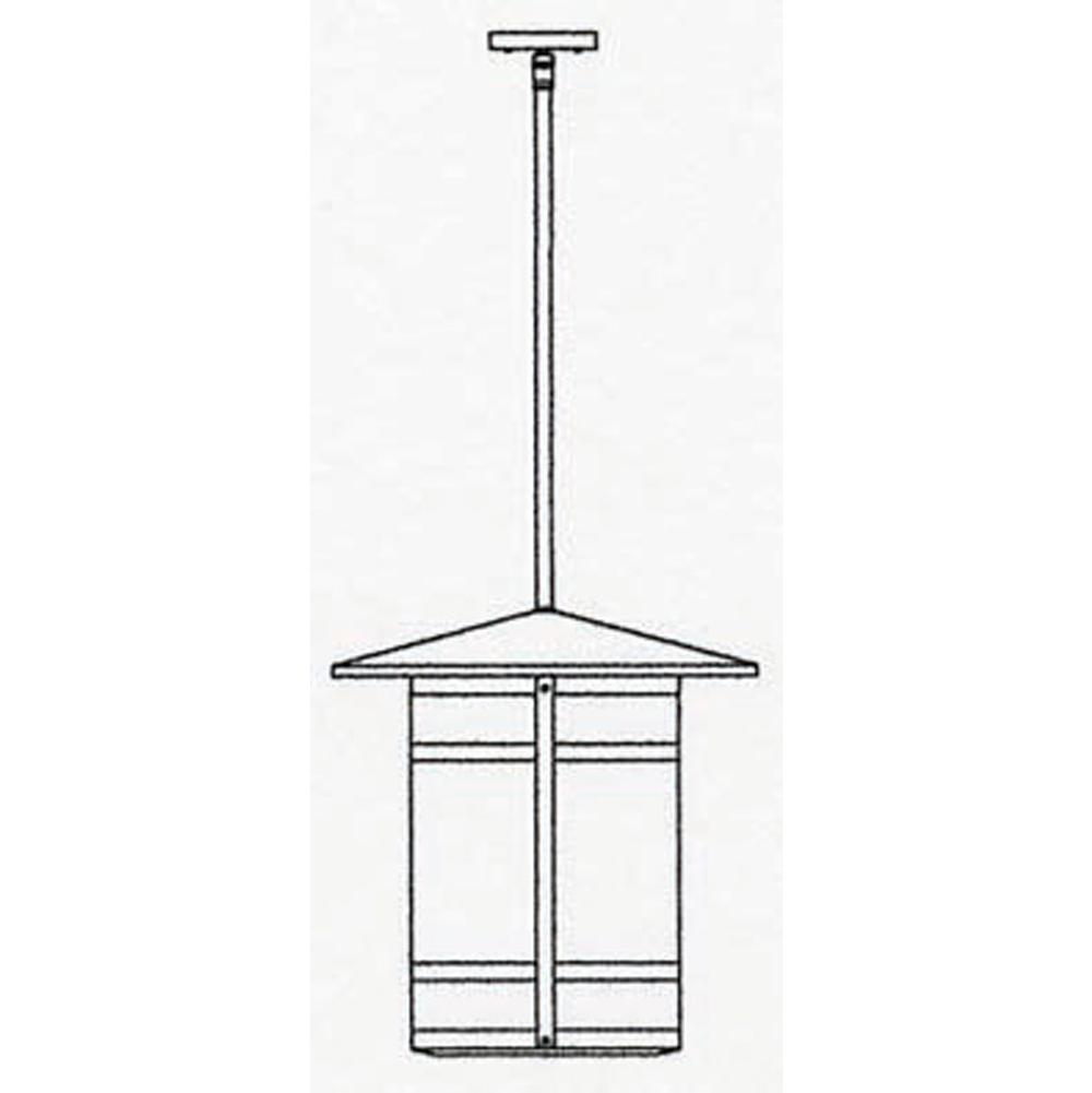 Arroyo Craftsman 17'' Berkeley Long Body Stem Hung Pendant